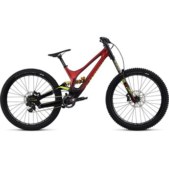 Specialized S-Works Demo 8 FSR Carbon 650B Gloss Candy Red Fade/Black/Hyper