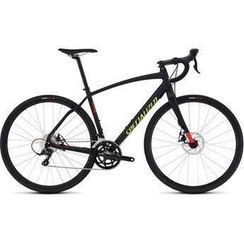 Specialized Diverge Sport A1 CEN Satin Black/Rocket Red/Hyper Green