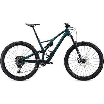 Specialized Stumpjumper Short Travel Ltd Carbon Downieville 29 Satin Jungle Green/Metallic Spruce