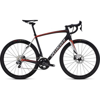 Specialized Roubaix SL4 Pro Disc Race UDi2 Satin Carbon/Rocket Red/Silver
