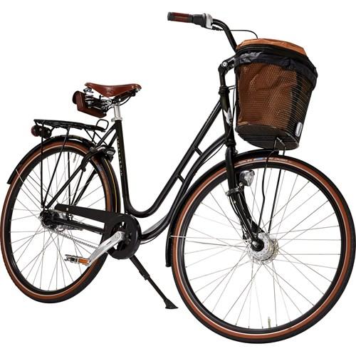 Skeppshult Natur Premium 7 Växlar Damcykel Spegelsvart 2016