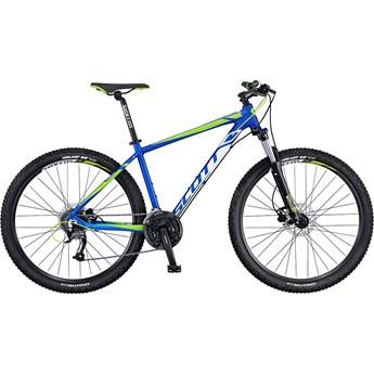 Scott Aspect 750 Grön och Vit på Blå