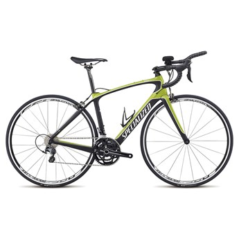 Specialized Alias Comp Ultegra Tri Compact Double Hyper Green/Black