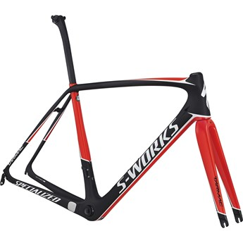 Specialized S-Works Tarmac Rampaket (Frameset) Carbon/Gloss Rocket Red/Metallic White 2017