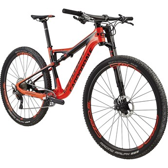 Cannondale Scalpel-Si Hi-Mod 1 Acid Red with Jet Black and Charcoal Gray, Gloss