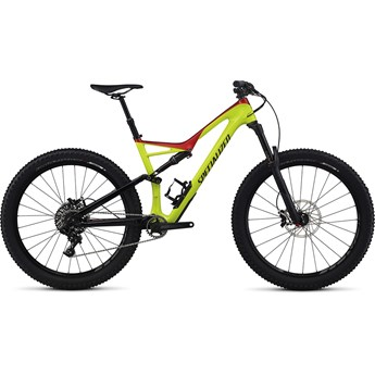 Specialized Stumpjumper FSR Comp Carbon 6Fattie Gloss Hyper/Candy Red/Black