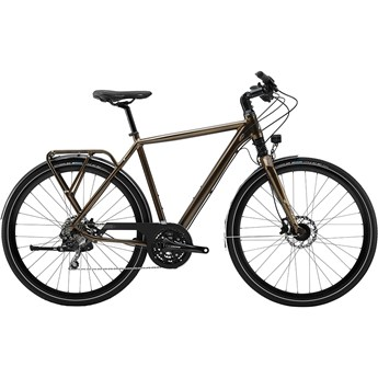 Cannondale Tesoro 1 Gloss Bourbon with Matte Black Coffee Details