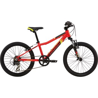 Cannondale Trail 20 Boys Race Red with Jet Black, Electric Summer and White Splatter, Gloss