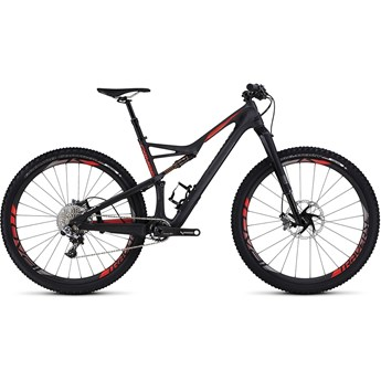 Specialized S-Works Camber 29 Satin/Gloss Carbon Rocket Red/Flored