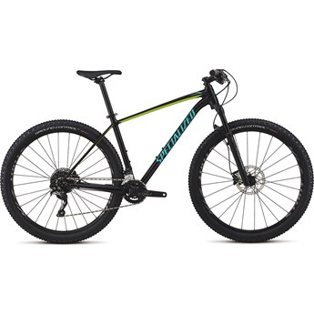 Specialized Rockhopper Men Pro 29 Gloss Tarmac Black/Hyper/Acid Mint 2018