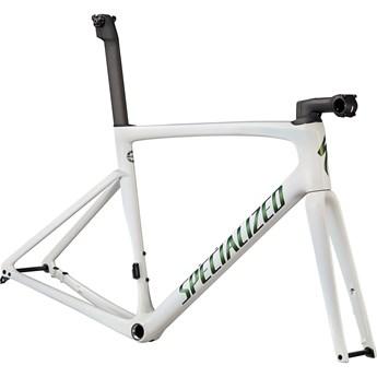 Specialized Tarmac SL7 10R Frameset Chameleon Silver Green Tint Over White/Snake Eye 2022