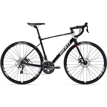 Giant Defy 2 Disc Metallic Black/Silver/Red 2016