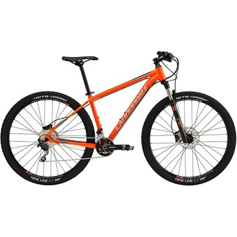 Cannondale Trail 3 Hazard Orange with Fine Silver and Charcoal Gray, Gloss