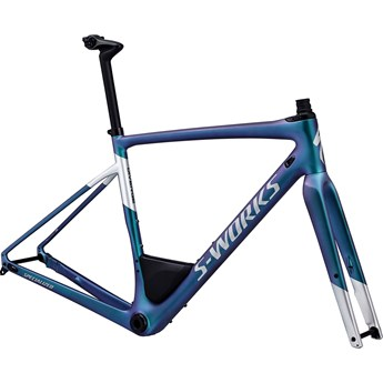 Specialized S-Works Diverge Men Frameset Satin Gloss Oil/Gloss Light Silver