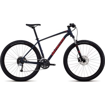 Specialized Rockhopper Men Comp 29 Satin Gloss Cast Blue/Charcoal/Rocket Red 2018