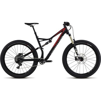 Specialized Stumpjumper FSR Comp 6Fattie Satin Black/Flo Red/White