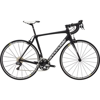Cannondale Synapse Carbon Ultegra Di2 Jet Black with Magnesium White and Nearly Black, Matte