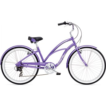 Electra Cruiser Lux 7d Purple Metallic Dam