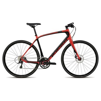 Specialized Sirrus Elite Carbon Disc Red/Carbon/Charcoal
