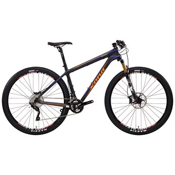 Kona King Kahuna Matt Unidirectional Carbon with White, Orange and Purple