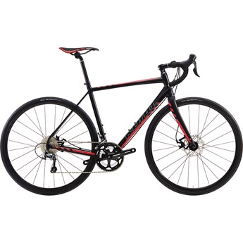Kona Esatto Disc Matt Black with Silver, Dark Red and Red Decals