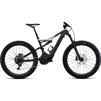 Specialized Levo FSR Men Expert Carbon 6Fattie NB Satin Carbon/Flake Silver 2018