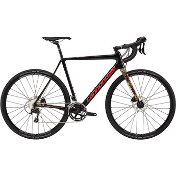 Cannondale SuperX 105 Jet Black with Acid Strawberry, Gloss