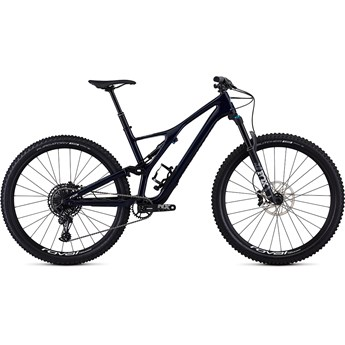 Specialized Stumpjumper FSR ST Men Comp Carbon 29 12 SPD Gloss Blue Tint Carbon/White 2019