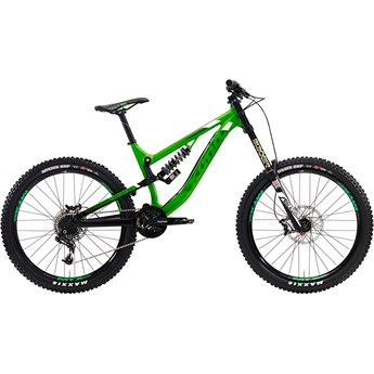 Kona Precept 200 Matt Green and Black with Black and White Decals