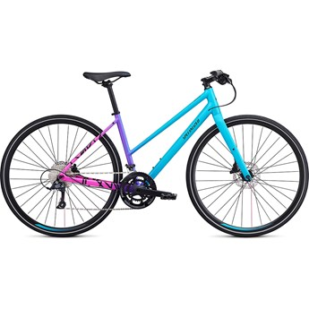 Specialized Sirrus Womens Sport Step-Through Mixtape Int Nice Blue/Acid Fuchsia/Black