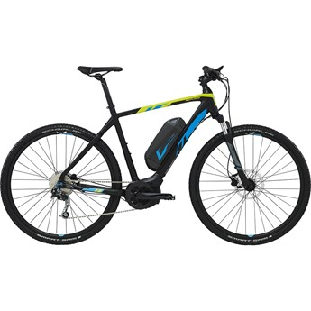 Giant Explore E+ XC GTS Black/Blue/Lime 2016