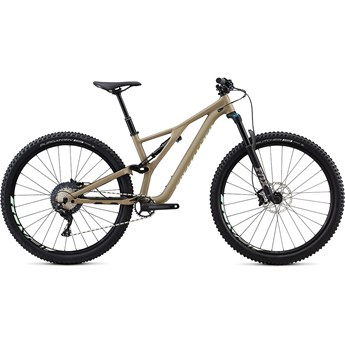 Specialized Stumpjumper FSR ST Womens Comp 29 Satin/Taupe/Acid Kiwi