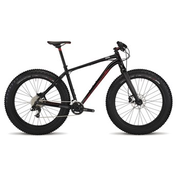 Specialized Fatboy Expert Black/Flo Red