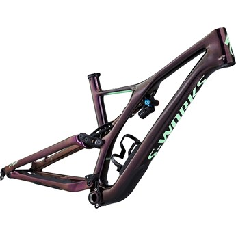Specialized S-Works Stumpjumper FSR Men Carbon 29 Frame Gloss/Sunset Acid Kiwi