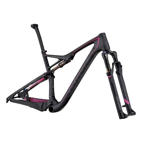 Specialized S-Works Epic FSR Carbon WC 29 Frameset (Rampaket) Carbon/Black/Magenta 2015