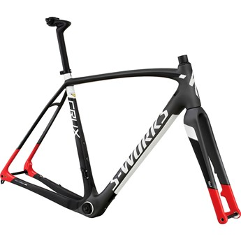 Specialized S-Works Crux Disc Frame Satin/Gloss/Carbon/Charcoal/Tarmac Black/Red
