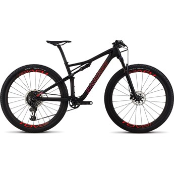 Specialized S-Works Epic Womens Carbon 29 Satin Gloss Black Tint/Rocket Red Acid Purple Fade
