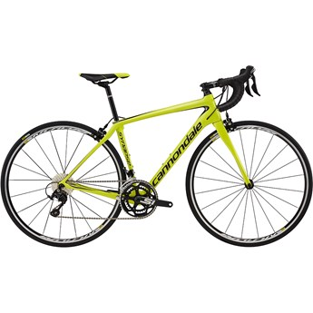 Cannondale Synapse Carbon Womens 105 Neon Spring With Charcoal Grey and Nearly Black, Gloss
