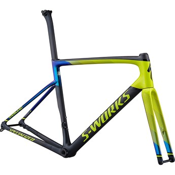 Specialized Tarmac SL6 S-Works Disc Frameset Gloss Hyper/Oil Chameleon/Tarmac Black/Carbon