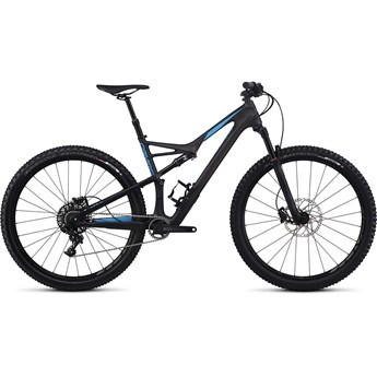 Specialized Camber FSR Comp Carbon 29 Satin Carbon/Neon Blue 2017