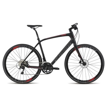 Specialized Sirrus Expert Carbon Disc Carbon/Red/Charcoal