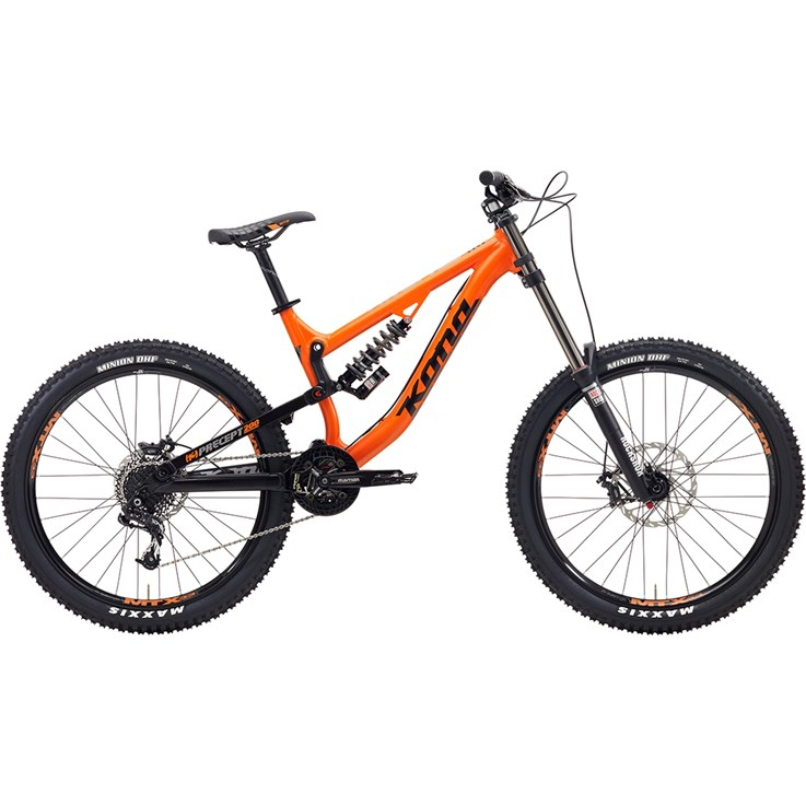 Kona Precept 200 Black/Dark Silver Matt Orange