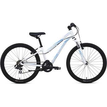 Specialized Hotrock 24 7 Speed Girls Sparkle White/Powder Blue
