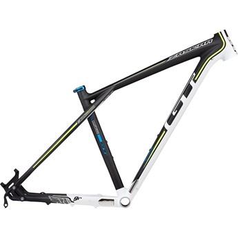 GT Zaskar Carbon 9R Frame Materialfärg/Vit/Neon Gul