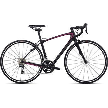 Specialized Ruby SL4 Satin Tarmac Black/Rainbow Pink/Warm Charcoal