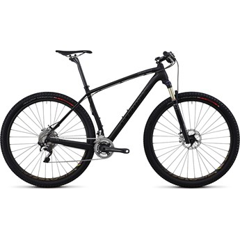 Specialized S-Works Stumpjumper Hardtail Kolfiber 29 XTR Materialfärg/Svart