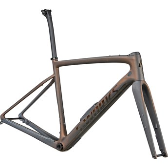 Specialized Diverge S-Works Frameset Satin Carbon/Color Run Pearl/Chrome/Clean 2022