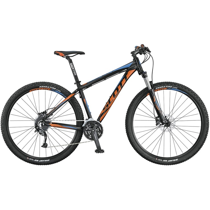 Scott Aspect 940 Black Orange/Blue