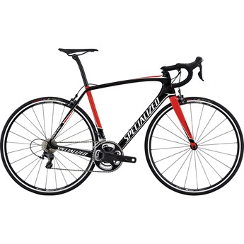 Specialized Tarmac Expert Gloss Tarmac Black/Rocket Red/Metallic White 2017