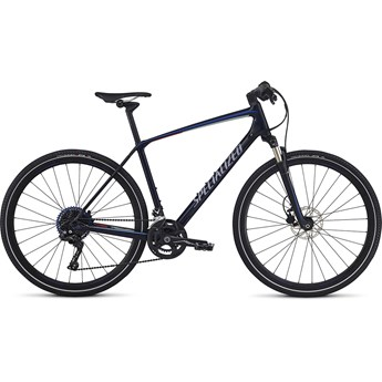 Specialized Crosstrail Expert Carbon Blue Tint/Baby Blue/Nordic Red Reflective 2017